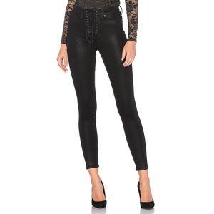 Hudson Bullocks High Rise Lace Up Jeans 25